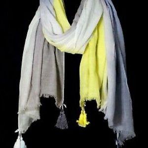 Loft watercolor scarf